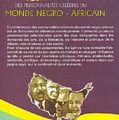 Dictionary Of Negroafrican Celebrities 2 by Emmanuel Baliyanga