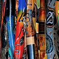 Digeridoos by Robert Lacy