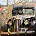 Digger O Balls Funeral Pallor Hearse by Colleen Cornelius