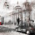 Digital-art London Composing by Melanie Viola