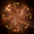 Digital Daisy Gold by Elisabeth Lucas
