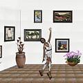 Digital Exhibition _ Dancing Girl  by Pemaro