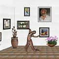 digital exhibition _ Girl 2 - Zombie  by Pemaro