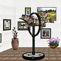digital exhibition _ Statue  of fish  12 by Pemaro