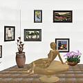digital exhibition _ Statue of girl 52 by Pemaro