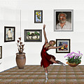 Digital Exhibition _dancing Girl 221 by Pemaro