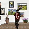 Digital Exhibition _posing Girl 221 by Pemaro