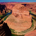Digital Paint Horseshoe Bend  by Chuck Kuhn