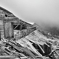 Dilapidated Gold Mine by Paul Quinn