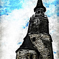 Dinan Clock Tower by Joan  Minchak