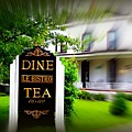 Dine Le Bistro Tea by Jacqueline Manos