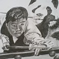 Ding Junhui Snooker by James Dolan