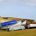 Dinghy Park At Freshwater Bay by Rod Johnson