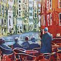 Dining Canalside by Jenny Armitage