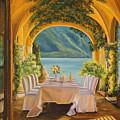 Dining on Lake Como