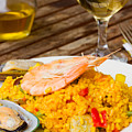 Dining With Paella by Anastasy Yarmolovich