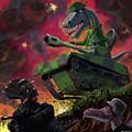 Dinosaur War 01 by Martin Davey