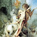 Diomedes Devoured By His Horses Watercolour Gustave Moreau by Eloisa Mannion