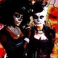 Diosas Del Dia De Los Muertos by Lita Kelley