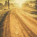 Dirt Road Sunrise by Jorgo Photography - Wall Art Gallery