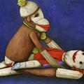 Dirty Socks 6 by Leah Saulnier The Painting Maniac