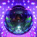 Disco Ball Purple by Andee Design