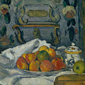 Dish Of Apples by Paul Cezanne