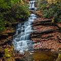 Dismal Falls In Autumn by Chris Berrier