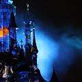 Disney Blues At Night  by Navya Saini