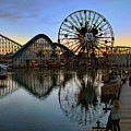 Disney California Adventure Panorama by Eddie Yerkish