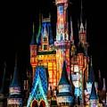 Disney Castle by Paulette Thomas