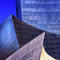 Disney Hall Abstract by Endre Balogh