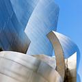 Disney Hall In Blue And Silver by Lorraine Devon Wilke