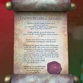 Disney World Christmas In The United States Scroll by Thomas Woolworth