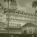 Disney World The Grand Floridian Resort Vintage by Thomas Woolworth
