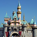 Disneyland Castle by Mariola Bitner