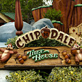 Disneyland Chip And Dale Signage by Thomas Woolworth