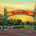 Disneyland Downtown Disney Signage 02 by Thomas Woolworth