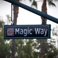 Disneyland Magic Way Street Signage by Thomas Woolworth