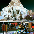 Disneyland Tomorrowland - Pop Color by Dorothy Lee