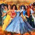 Disney's Princesses by Caito Junqueira