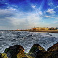 Distant Pier by Joshua Zaring