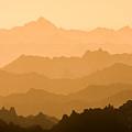 Distant Ridges by Rikk Flohr