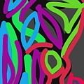 Distorted Geometry by Alejandro Prassel