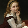 Distraction by William-Adolphe Bouguereau