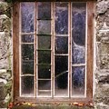 Disused Watermill Window by Richard Brookes