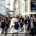 Diversity In The City Double Exposure by John Rizzuto