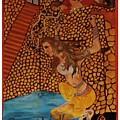 Divine Bath by Rajnish Awasthi