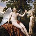 Divine Love And Profane Love by Jose de Madrazo y Agudo