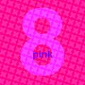 Divine Pink Number Eight by Maciej Mackiewicz